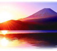 平成31年2019年賀状富士山